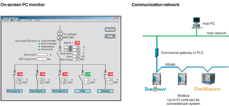 выключателей на ПК и схема