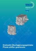 Phase shifter gearboxes