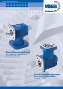 Servo bevel gearboxes